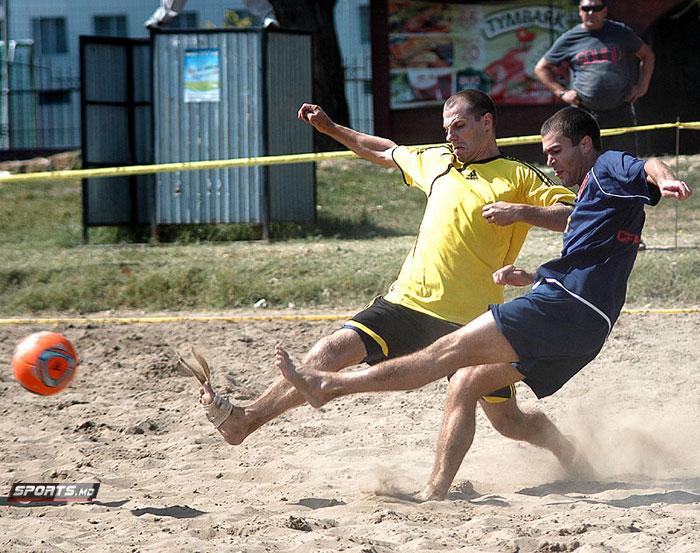 Негру Денис стал обладателем Кубка Молдовы по пляжному футболу